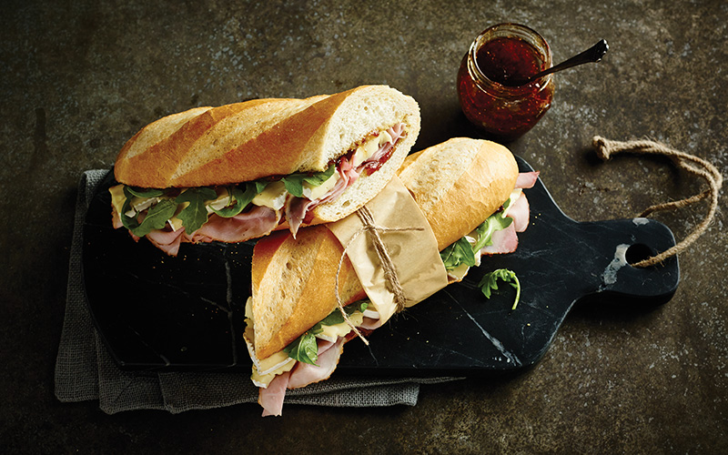 Parisian Ham Sandwiches for Packed Schedules