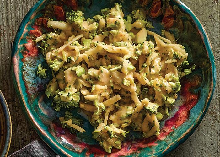 Apple Broccoli Slaw