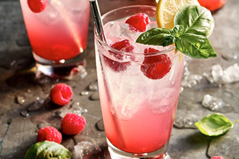Raspberry Lemonade (Non-alcoholic)