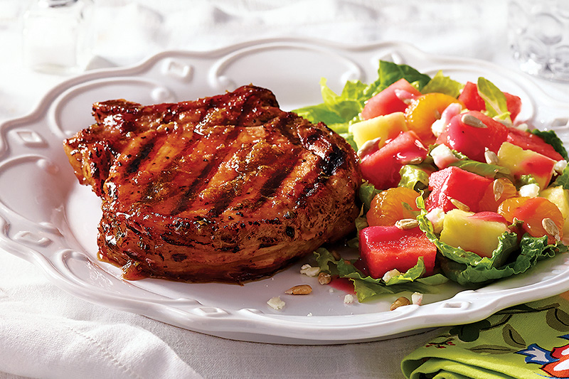 Honey-Chipotle Pork Chops
