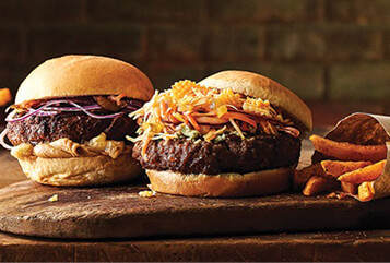 Blue Cheese Crunch Burgers