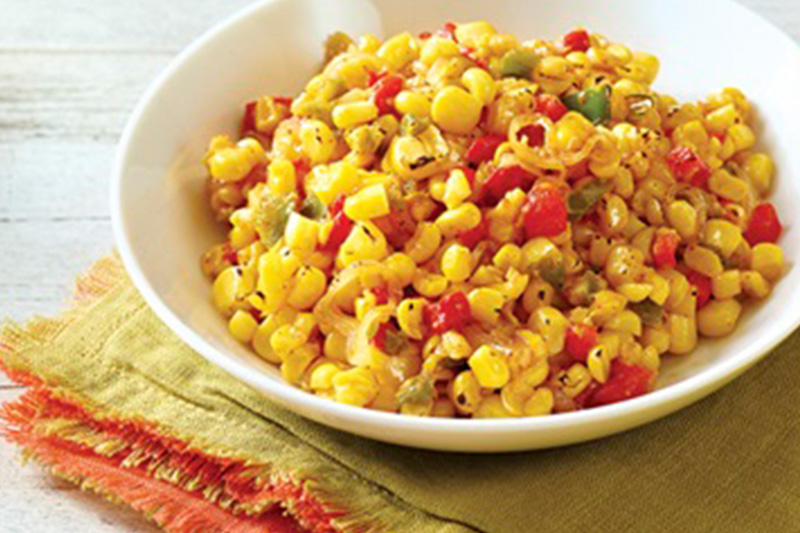 Barbecue Corn Sauté